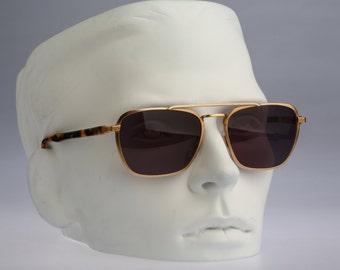 Gian Marco Venturi 710, Vintage aviator sunglasses, 80s Rare and unique / NOS