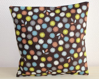 Cushion cover - 24 x 24 cm - pattern floral