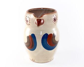 Ullerød keramik - Owl pitcher from the Danish ceramics workshop - Ullerød ceramics - made in 1950s
