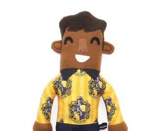 Duncan Hufflepuff Haus Plüsch Puppe, Puppe junge, Stuffie, harry Potter, kuschelig, kinderfreundlich, harry Potter-Fan-Geschenk