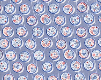 SALE Trinket - Spools Blue - Melody Miller - Cotton and Steel (0036-01)