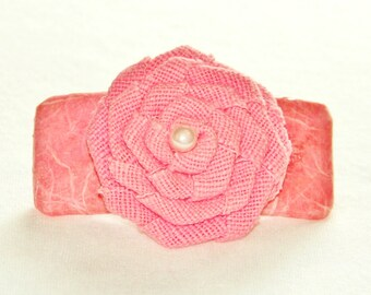 Blush Barrette
