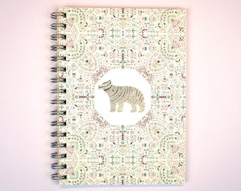 and then I fell into the sky - A5 Spiral Bound Notebook