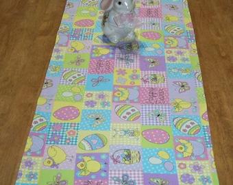 """TRE-3       41""""x14""""  Happy Easter table runner"""