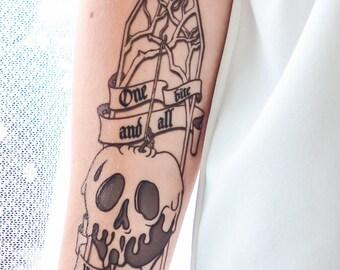 Poison Apple Tattoo
