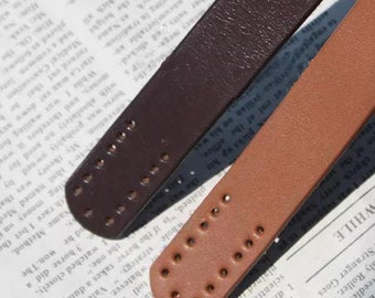 Genuine leather bag handles,brown handles,handles for handmade bag
