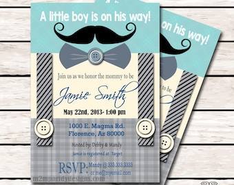 Little Man Mustache Baby Shower, Moustache Party Printable Suspenders Print at Home DIY