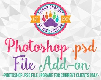 Photoshop PSD File Add-On