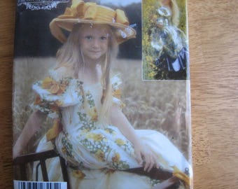 Simplicity Pattern 4980 Child's Dress      2004       Uncut