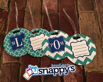 Personalized Luggage Tag -  1 Monogrammed Luggage Tags