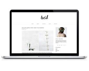 "wordpress theme ""lucid"" - blog design template - modern"