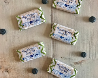 Huckleberry Guest Soap