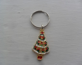 1 Joyful  Christmas Tree Keyring for special someone