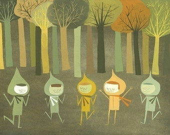 Vivienne and friends, Wisconsin 1974.  Limited edition print by Matte Stephens