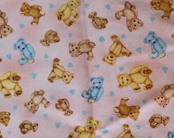 Pink Teddy Bears 50cm Remnant