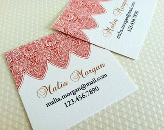Personalized Business Cards Calling Cards - Set of 48