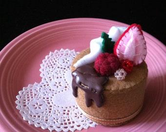 Chocolate Hazelnut Felt Cake