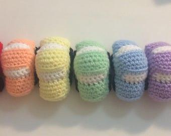 Crochet Mini Cars