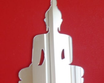 Buddha Mirror - 5 Sizes Available.  Also available in packs of 10 Craft Size