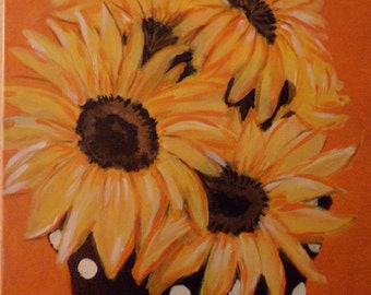 Bucket of Sun - Painting to make you smile