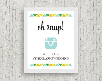 Printable Instagram Sign