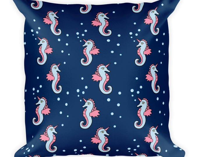 Featured listing image: Sea Dragon Pillow
