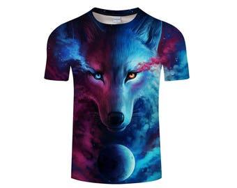 Wolf Shirt, Wolf Shirts, Wolf Tee Shirt, Wolf Tshirt, Wolves Shirt, Wolf T-shirt, Wolf, Wolves, Wolves Tshirt, Shirt, Wolf Tee - Style 1