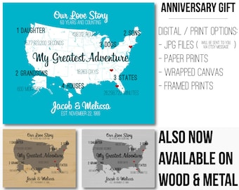 10 Year Anniversary Gift for Men 10 Year Anniversary for Him 10 Year Anniversary for Her Anniversary Gift for Wife Gift for Husband Custom