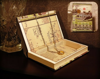Hollow Book Safe - The Hobbit 75th Anniversary Edition - Secret Book Safe