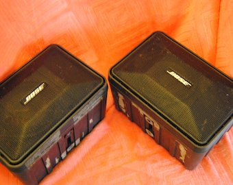 Boise 101 Music Monitors Vintage Speakers