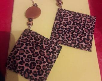Leopard Queen earrings