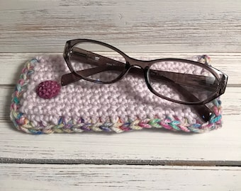 Crochet Eye Glass Case