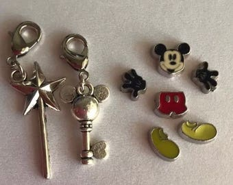 Mickey Floating Charms for Memory Living Lockets