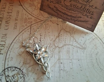 Lord of the Rings Arwens Evenstar Necklace