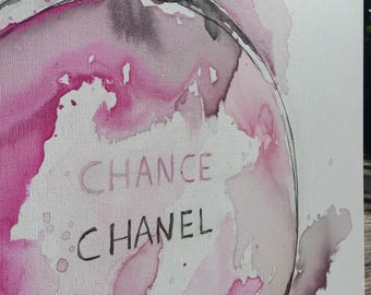 Chinese painting ink Coco Chanel perfume