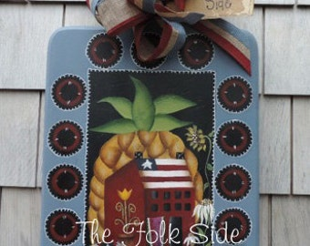 The folk Side by Lynn Barbadora, email pattern packet,