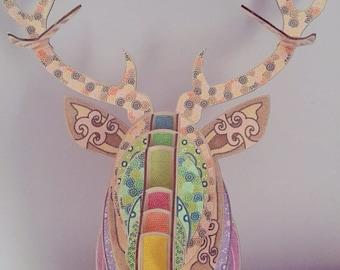 Caribou 3D faux wood
