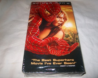 Vintage VHS Movie, Factory Sealed, Spiderman ll, Home Video