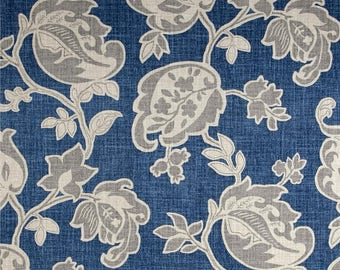 Arabella Yacht, Magnolia Home Fashions - Cotton Upholstery Fabric By The Yard