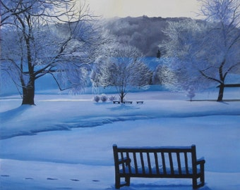 Blanket of Snow Giclee Print