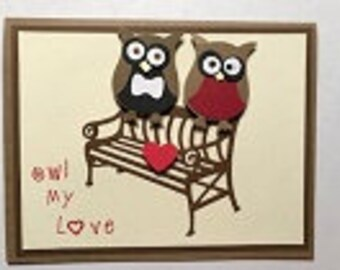 Owl My Love Greeting Card