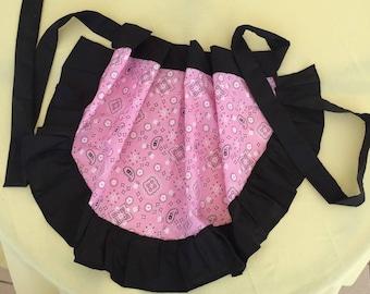 Pink bandana Apron