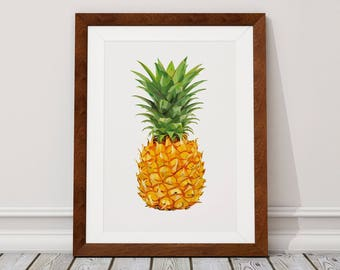 Pinrapple Digital Download, Pineapple Digital Print, Pineapple, Digital Download, Digital Print