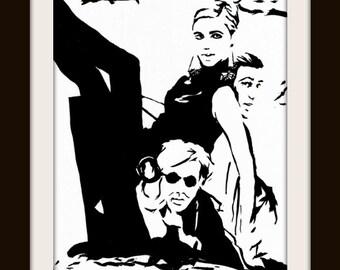 Edie Sedgwick Andy Warhol Pop Art Print