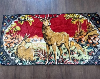 Deer tapestry or rug