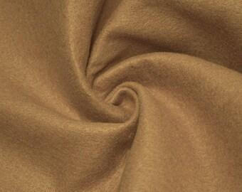 Charlotte LIGHT CAMEL Acrylic Felt Fabric by the Yard - Style 3003