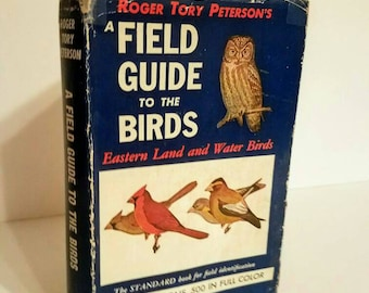 Bird Field Book Field Guide to the Birds by Roger Tory Peterson 24th Impression 1956