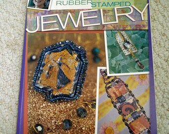 Make Unique Jewelry - Rubber Stamped Jewelry, Softcover book by Sandra McCall