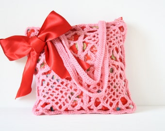 Crochet shoulderbag Pia