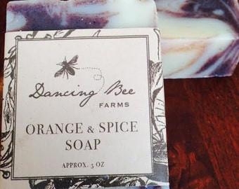 Orange & Spice Soap